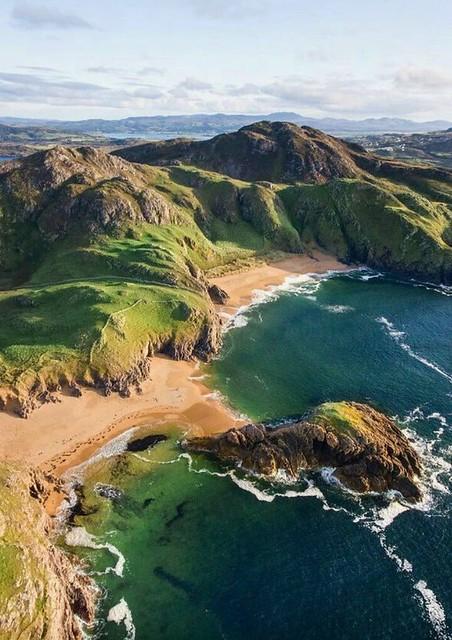 Melmore Head, Ireland.