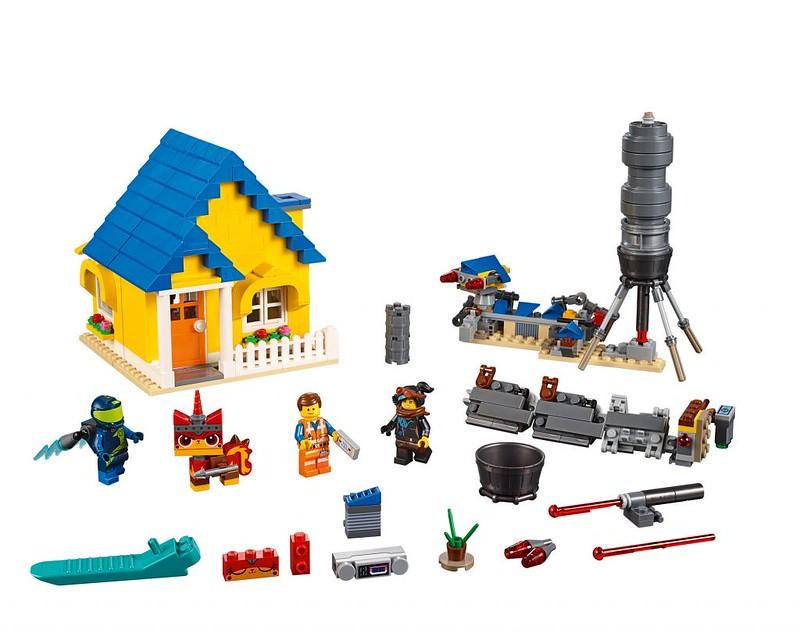 Emmet's Dream House/Rescue Rocket (70831)