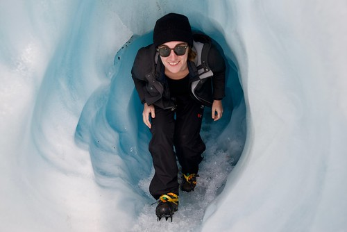 Exciting Ice Tunnel