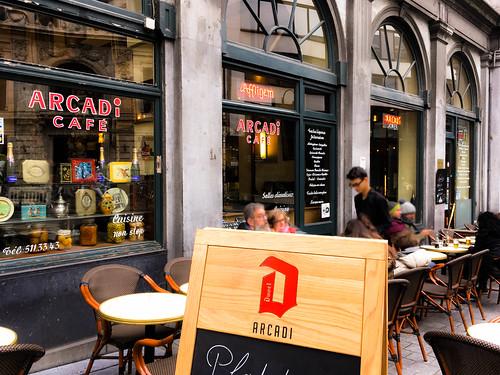 Terraza del Arcadi Café