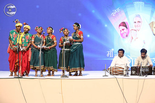 Raj Kumar and Sathi sung a traditional song, Durg