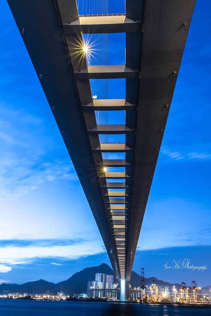 2018年11月11日 - 昂船洲大橋橋底