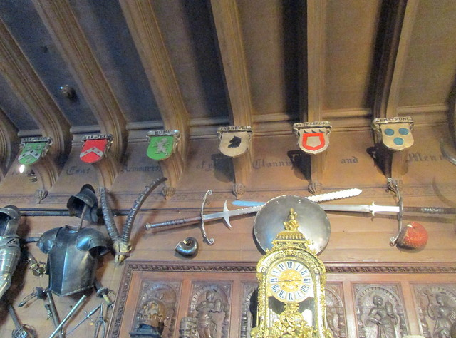 Abbotsford Ceiling , Sir Walter Scott