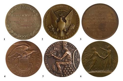 Woodrow Wilson medal contest reverses