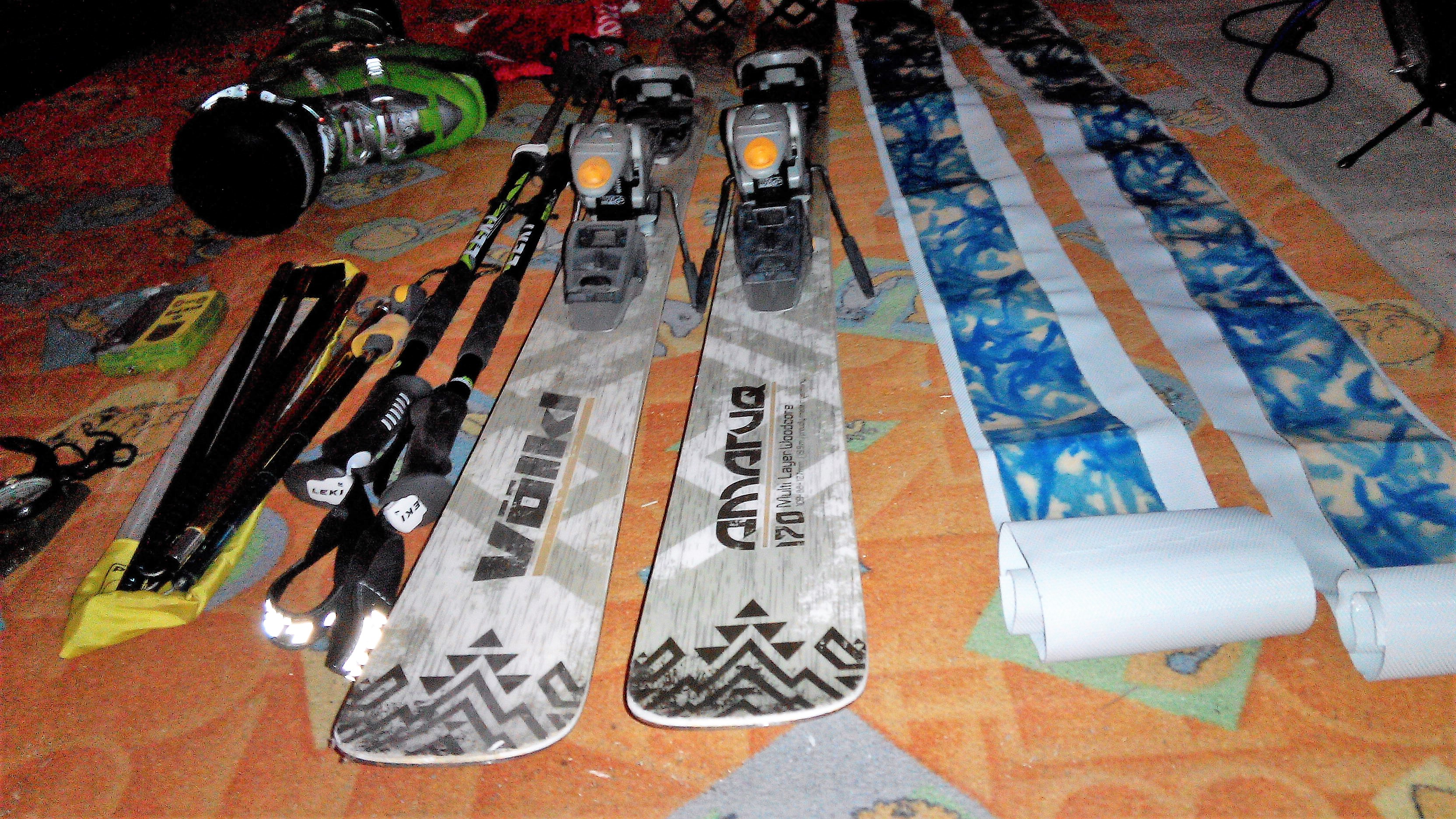 Skialp   freeride - kompletní set (Volk Amaruq) - Bazar - SNOW.CZ d8a7e7c8647