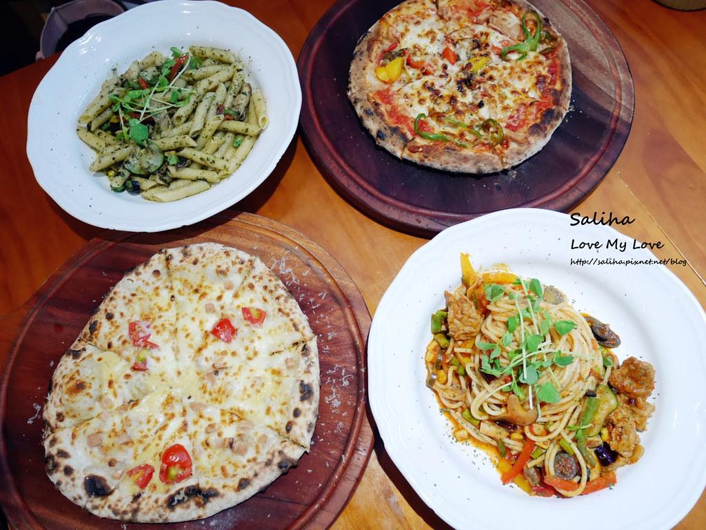 台北忠孝新生站好吃素食披薩餐廳義大利麵misha caffe (5)