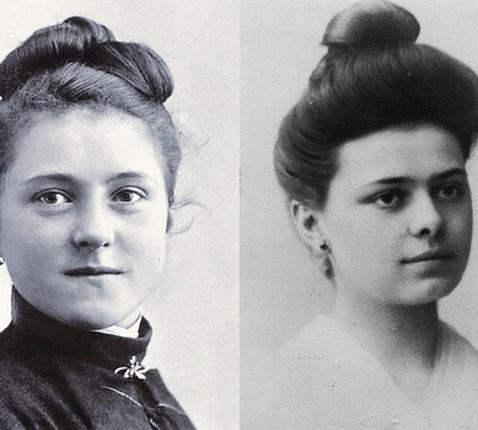 Thérèse et Elisabeth (c) officecentraldelisieux