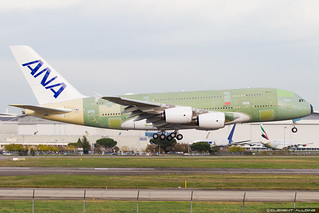 All Nippon Airways Airbus A380-841 cn 263 F-WWAF // JA382A