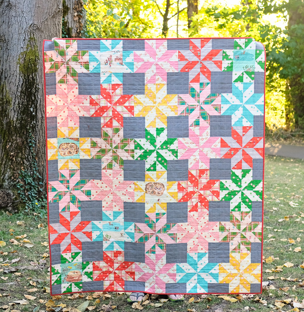 Sugarplum Quilt - The Patti Quilt Pattern