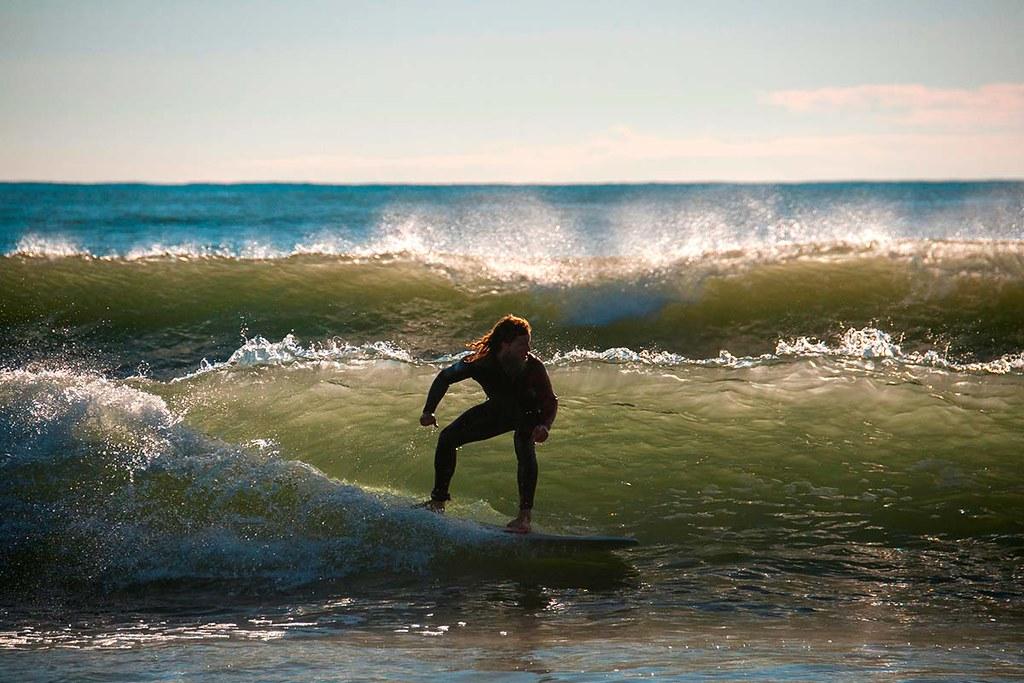 Alanya'da sörf heyecanı