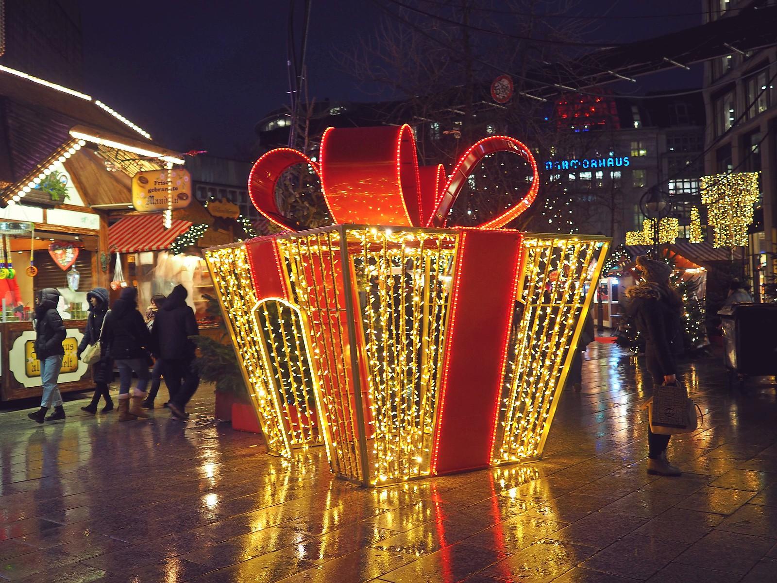 Breitscheidplatz joulumarkkinat berliini