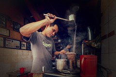 Make coffee in Saigon, Vietnam