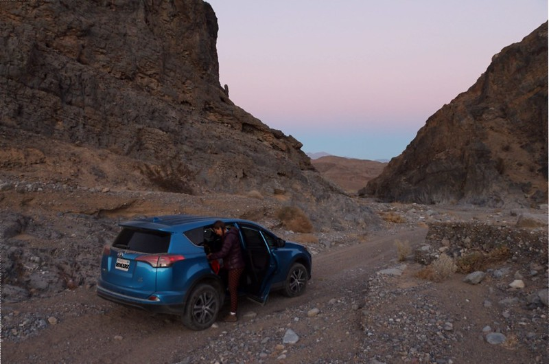 We made a right in Cottonwood Canyon and headed into Marble Canyon, where we found a spot to camp