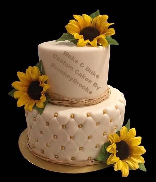 Cake from Wake & Bake Custom Cakes By BrookeyBrooke