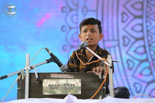 Master Ishwar sung a song, Yamuna Nagar, HR
