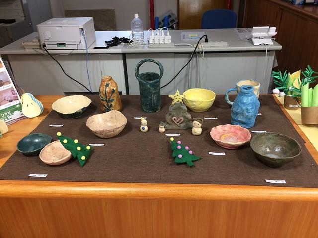 今年最後の陶芸教室 ^^;w