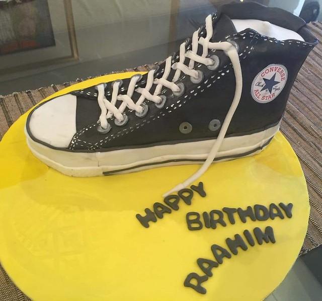 Sneakers Cake by Nadia Tariq