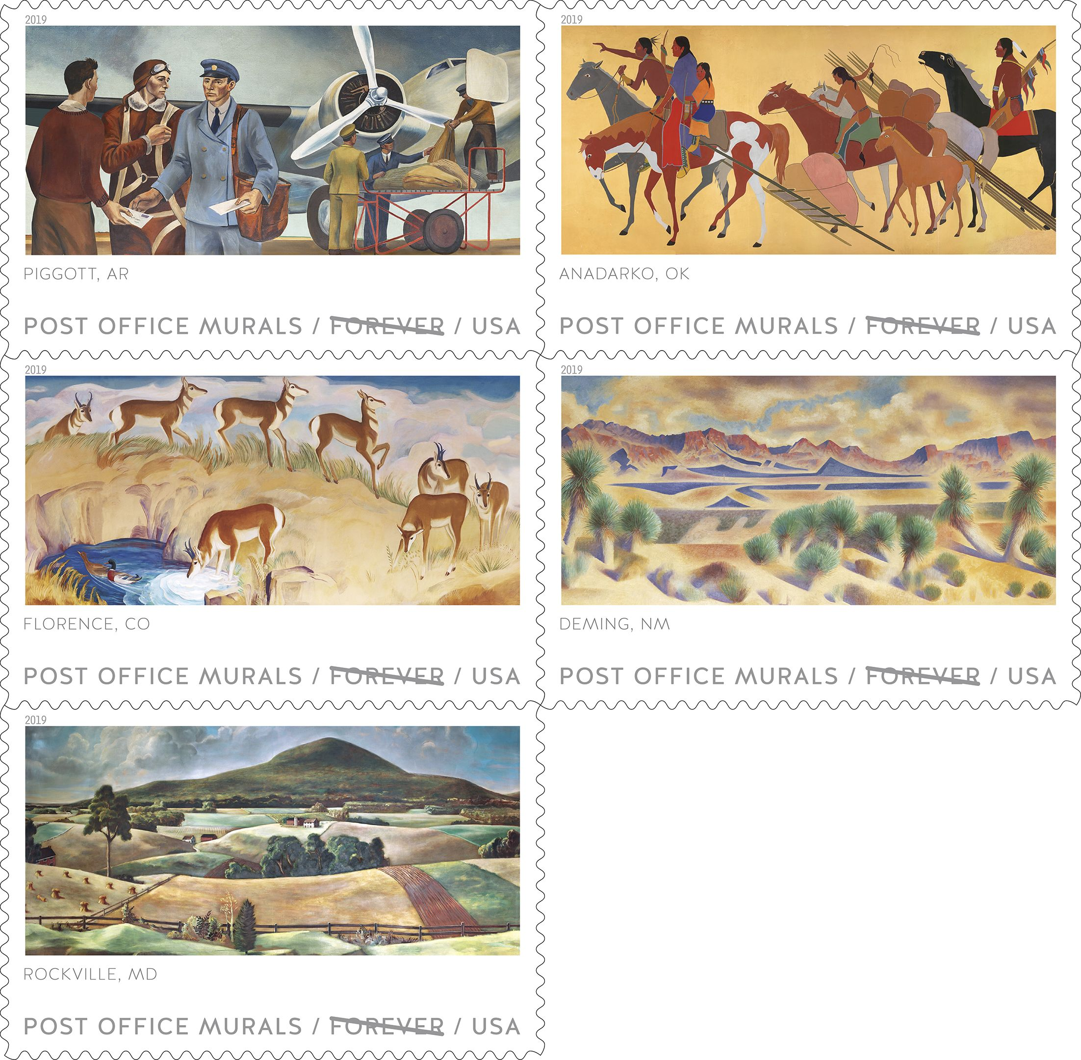 Post Office Murals - TBD 2019