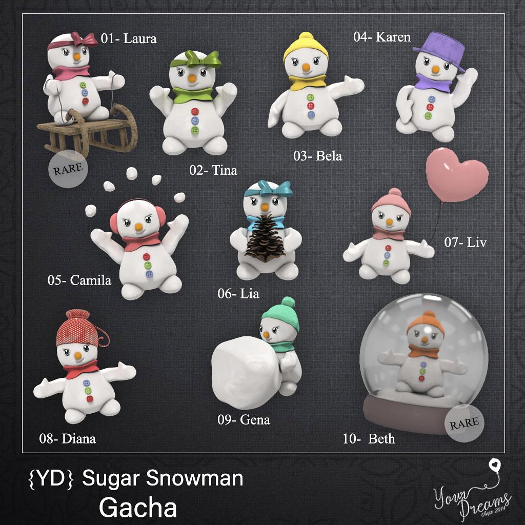 {YD} Sugar Snowman - TeleportHub.com Live!