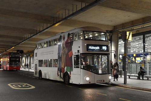 First LT from Heathrow    RATP London United: LT159   LTZ1159    N9: Heathrow Terminal 5 - Aldwych