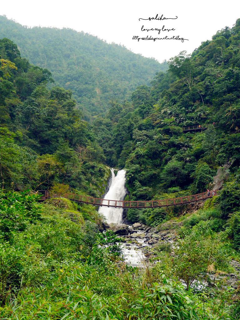 宜蘭冬山鄉好玩踏青郊遊爬山景點旅遊新寮瀑布第二層瀑布開放 (2)