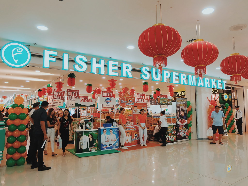 Fisher Mall Malabon Stores Opening