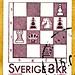 great stamp Sweden 3kr chess Schach schack échecs ajedrez xadrez шахматы šachy satranç شطرنج шах 棋 skak šah scacchi sakk szachy male チェス shakki šahs σκάκι šach sjakk schaakspel šachmatai שחמט शतरंज catur 체스 หมากรุก Scania frimärken Sverige postage Sveden  by stampolina, thx for sending stamps! :)