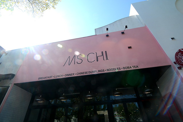 Ms Chi - A restaurant by Shirley Chung - Culver City