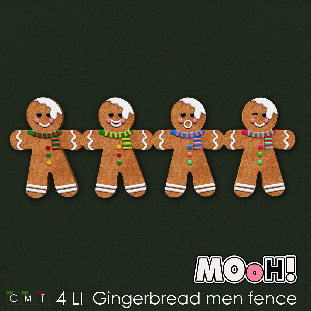 MOoH! Gingerbread men fence - TeleportHub.com Live!