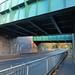 Widney Manor Station - railway bridge on Widney Lane