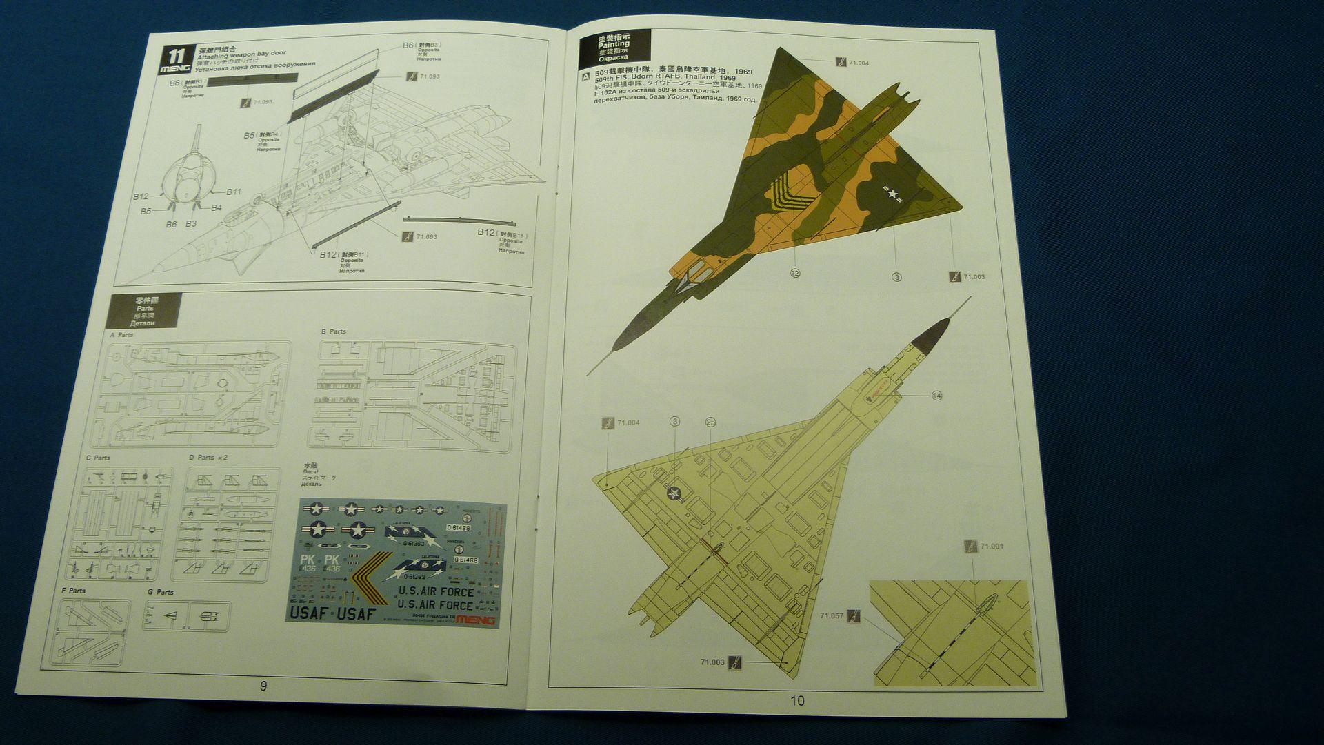 Meng Deltavingar, F-102 och F-106, 1/72 30942513497_f499247934_o