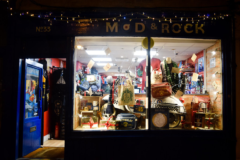 Mod Rock Christmas Windows, Canterbury