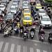 one stoplight in bangkok