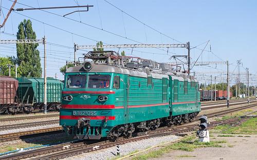 вл82м055 вл82м 055 електровоз полтавакиївська полтава залізниця