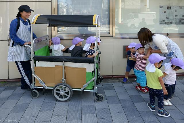 Japan Kyoto, little people, Panasonic DMC-TZ100