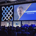 Christian Labrot during Plenary session 1 at IRU World Congress