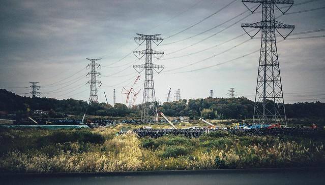 "Nov. 07. 2018  ""除染廃棄物 / Nuclear waste""""  Futaba, Fukushima(撮影:東間嶺)"