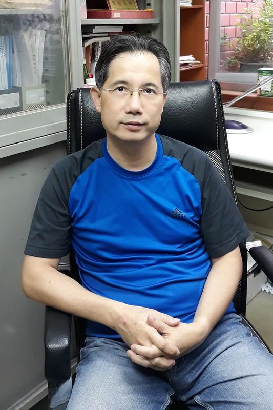 營養科學學士學位學程副主任沈賜川。圖/廖宜德攝
