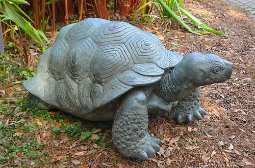 Sculpture - Tortoise (Cast 1998) by Paul Manship