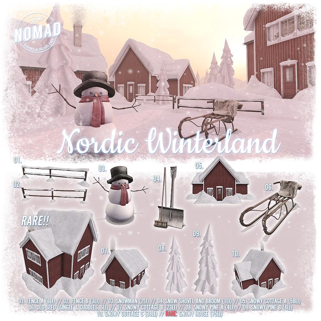 NOMAD // Nordic Winterland Key