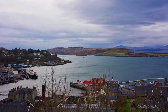 Oban Town in Scotland, Sony ILCE-7M3, Sony FE 35mm F2.8 ZA