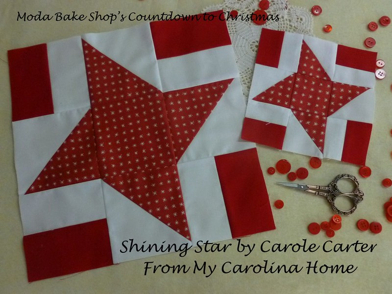 Moda Bake Shop Countdown to Christmas at FromMyCarolinaHome