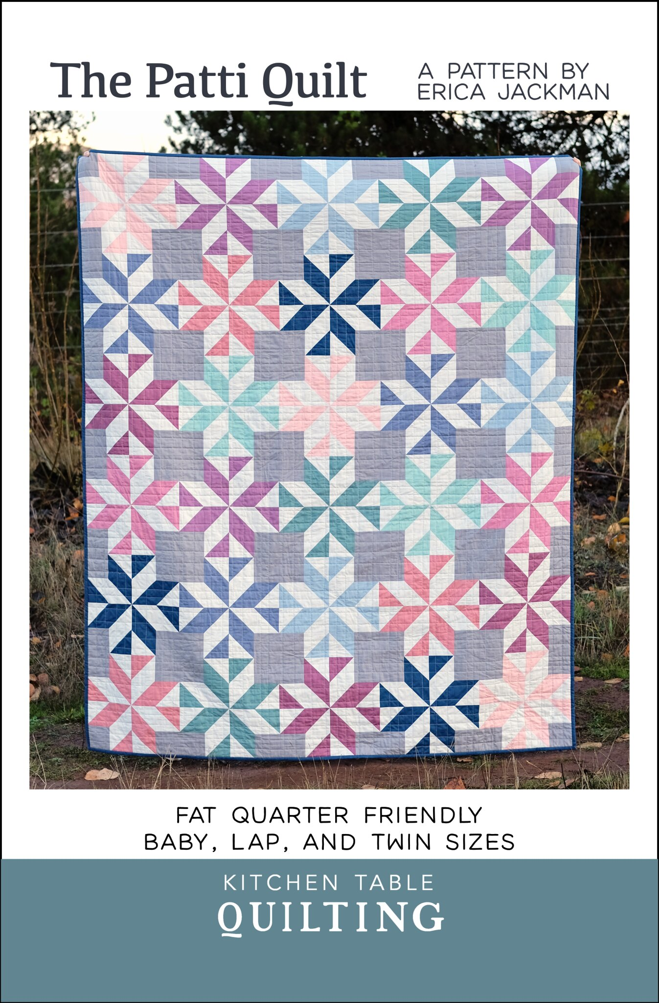 The Patti Quilt Pattern - Kitchen Table Quilting