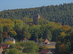 Zoom sur le château - Photo of Oberhaslach