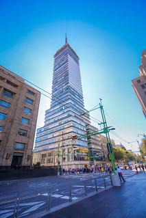 Torre Latinoamericana in Mexico City
