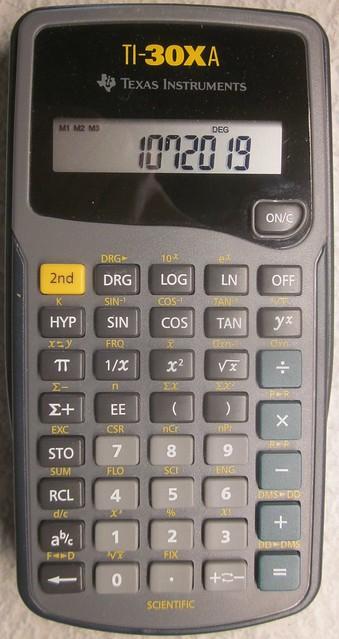 Texas.Instruments.TI-30XA