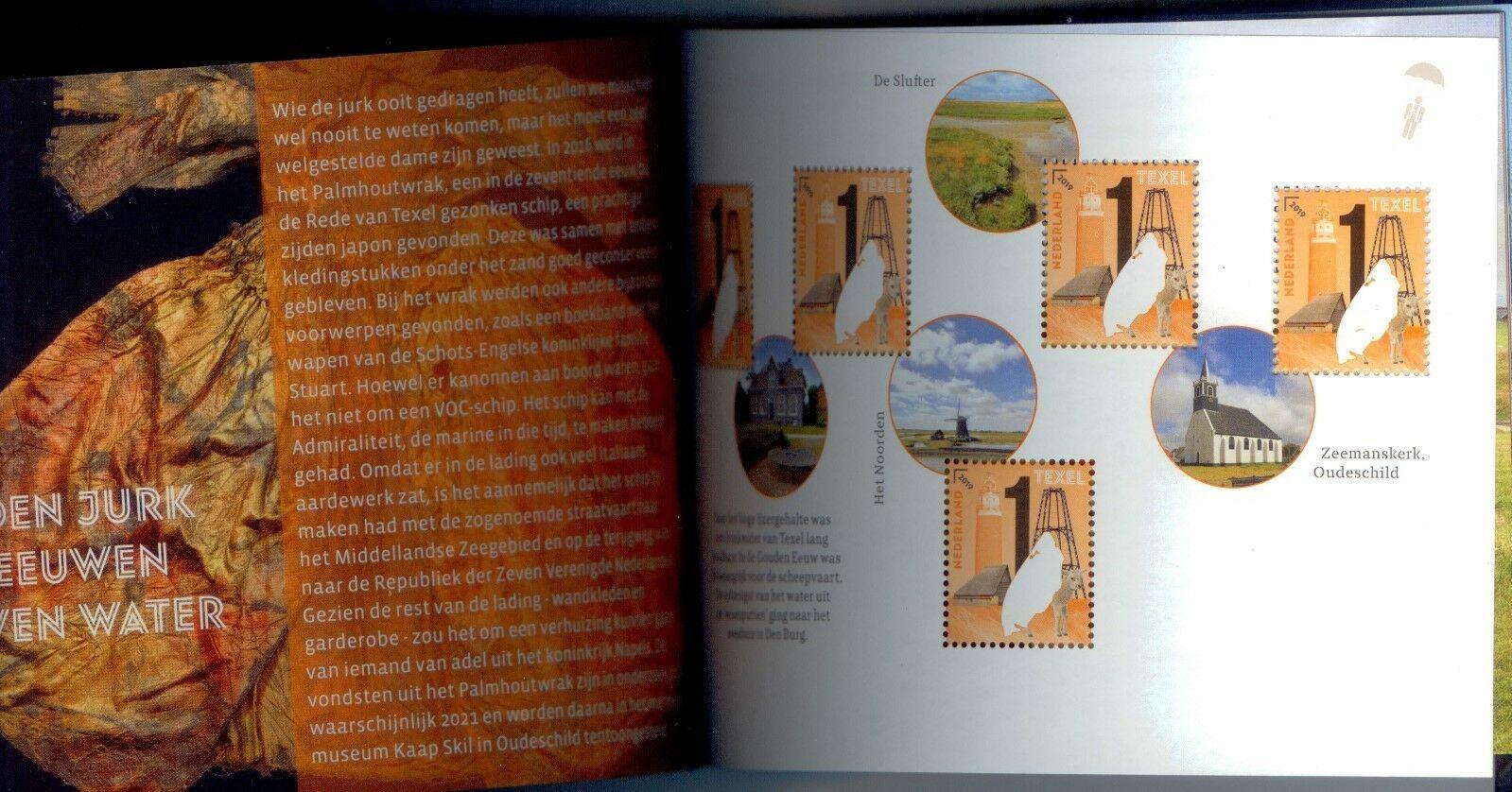 Netherlands - Beautiful Netherlands: Texel (January 2, 2019) prestige booklet
