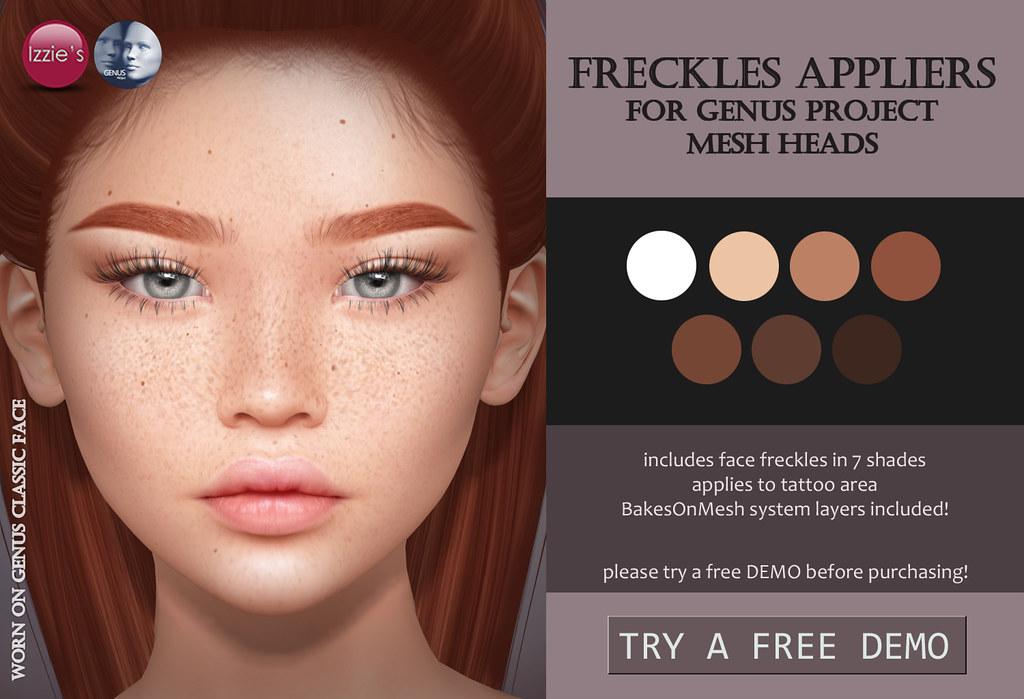 Freckles (Genus) - TeleportHub.com Live!