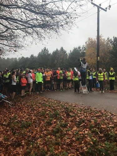 parkrun 2nd birthday cannock chase