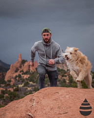 Male Fashion Micro-Influencer with Dog